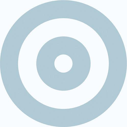 Porcelánico Circle Blue