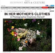 Huffington Post Feature Article In Her Mother's Clothes Rowan Metzner