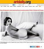 artdaily.com review of Erotic Masters by Rowan Metzner