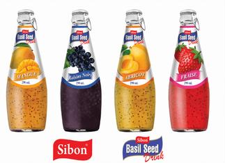Basil Seed Drinks