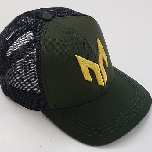Green and Gold Moura Stock Dogs Cap