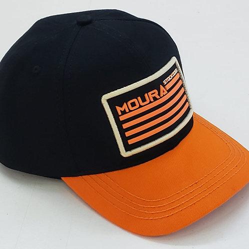 Orange Flag Moura Stock Dogs Cap