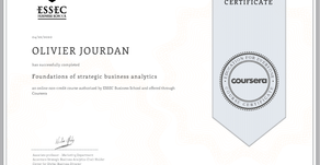 Strategic Business analytics