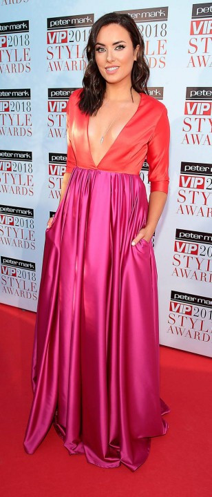 Holly Carpenter at the VIP Style Awards
