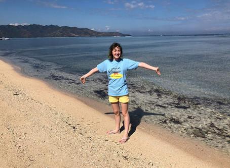 Gili Island turtle heaven!