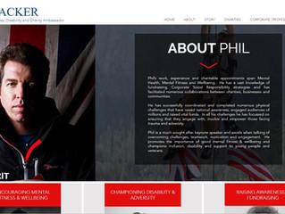 New Website for Phil Packer MBE