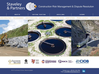 New website for www.staveleyandpartners.ie