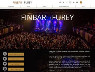 New website for www.finbarfurey.com