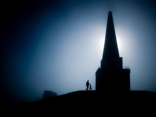 Misty Morning Obelisk