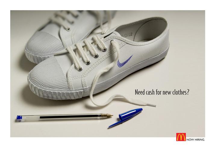 McDonalds recruitment Advertising