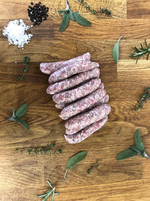 Lincolnshire Pork Chipolatas