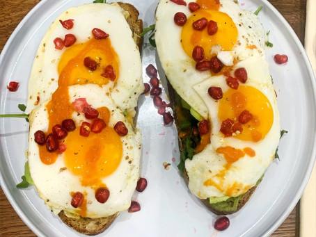 Frühstücksidee mit Herr Müller´s Bauernbrot