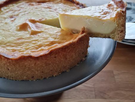 Käsekuchen mit Mayo`s Mandel Streusel