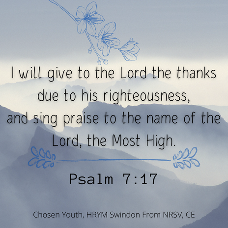 I will give to the Lord the thanks due t