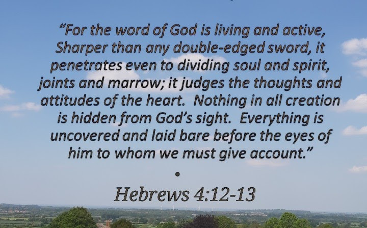 Hebrew 4:12-13