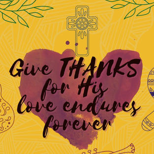 January Edition: Give thanks with a grateful heart