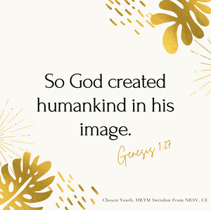 So God created humankind in his image.pn