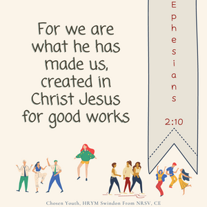 For we are what he has made us, created