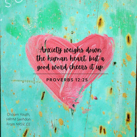 Anxiety weighs down the human heart, but