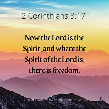 2 Corinthians 3:17