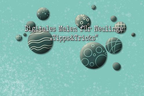 """Onlinekurs Digitales Malen - für Neulinge """"Tipps&Tricks"""""""