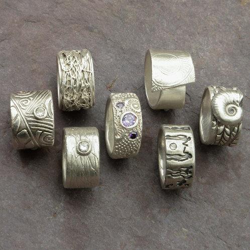 Workshop Silberring aus Metalclay