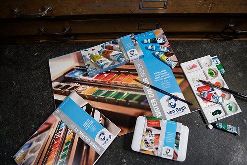 Aquarellpapier Weiss 24x32, 300g/m2