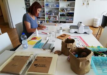 Offenes Atelier - Kärtli gestalten