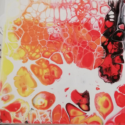 Offenes Atelier - Acrylic Pouring
