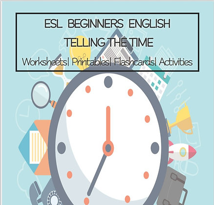 ESL ENGLISH Beginners Telling the Time