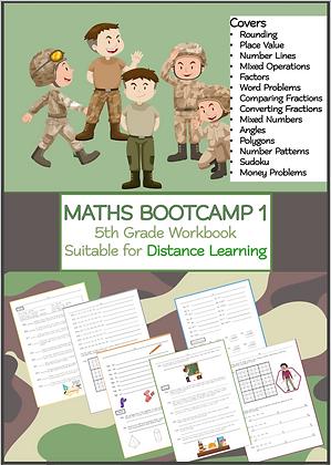 MATHS BOOTCAMP 1 - 5th Grade Workbook