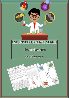 ESL ENGLISH Science Series Activity Workbook1 LEVEL Elementary
