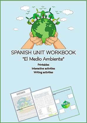 SPANISH WORKBOOK El Medio Ambiente