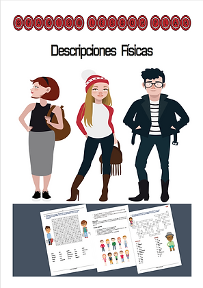 Spanish Lesson Plan Descripciones Fisicas