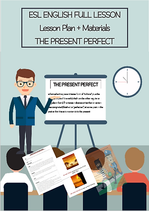 ESL English Full Lesson The Present Perfect LEVEL Intermediate