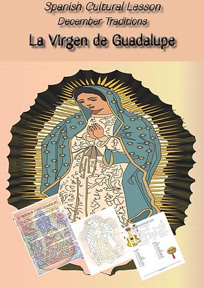 Spanish Cultural Lesson La Virgen de Guadalupe