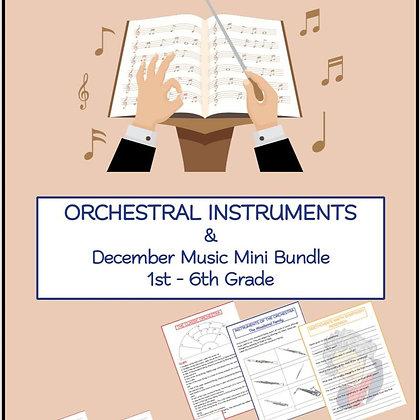 ORCHESTRAL INSTRUMENTS & December Music Mini Bundle