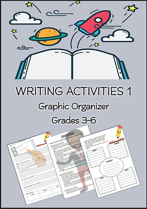 WRITING ACTIVITIES Graphic Organizer