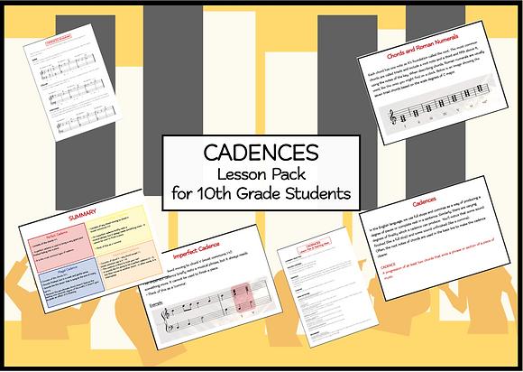 Cadences Lesson Pack