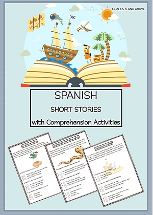 SPANISH Short Stories with Comprehension