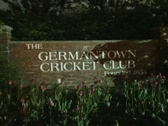 Germantown Cricket Club!