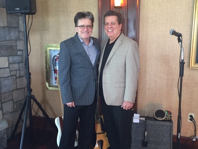 At Berkshire Country Club on Easter Sunday with Kurt Manderbach!