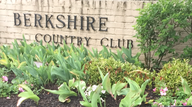 At Berkshire Country Club!