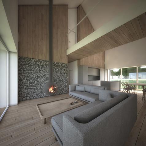 House-S salon - część wypoczynkowa