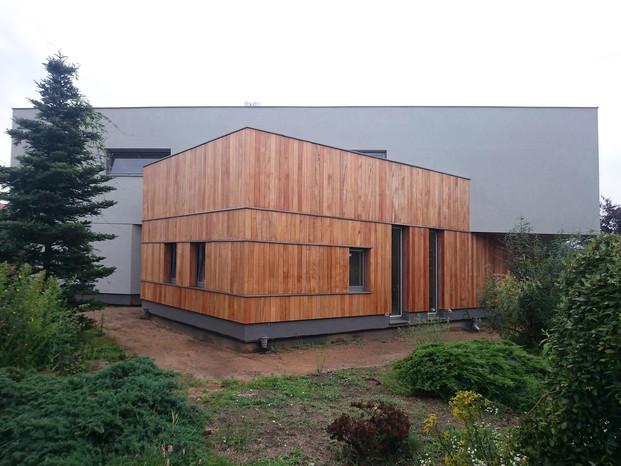 House-T ogród narożnik