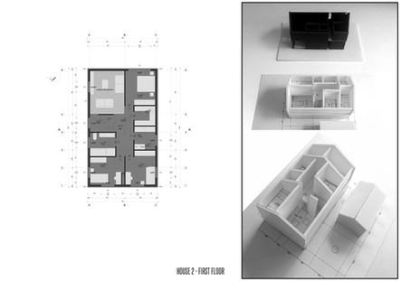 House-W rzut piętra