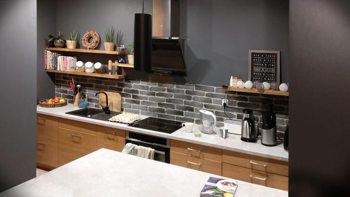 Interior-B kuchnia i wyspa