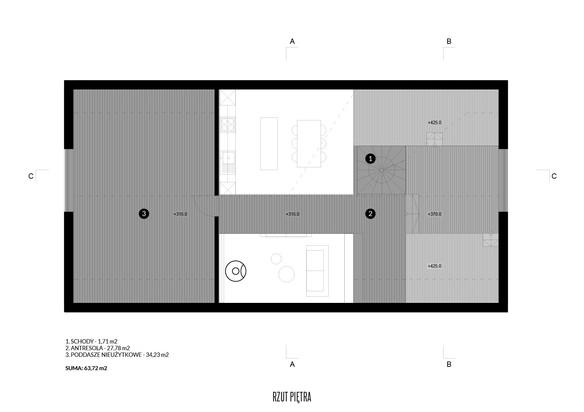 House-S rzut piętra