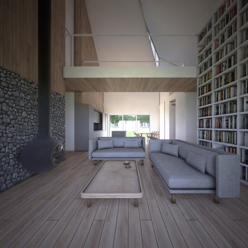 House-S wysoki salon