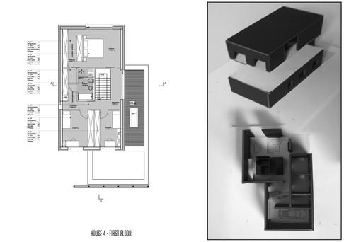 House-Z rzut piętra